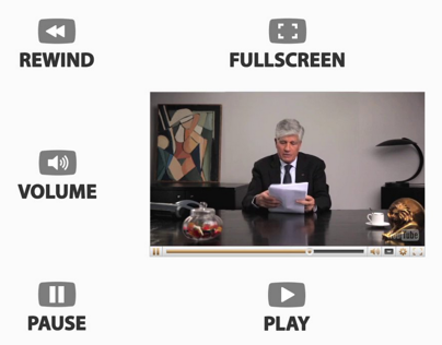 The Human Youtube Player // Publicis Wishes 2013