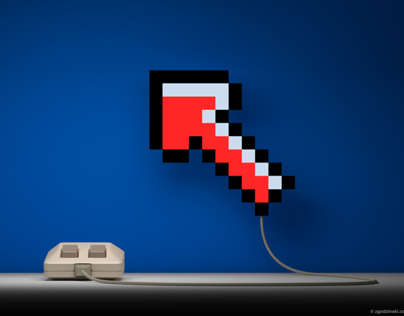 Classic mouse from the eighties