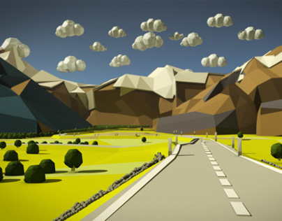 Lowpoly landscape
