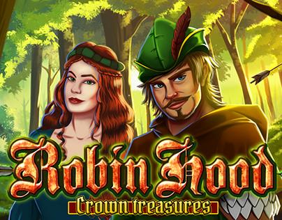 ROBIN HOOD crown treasures