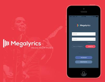 Megalyrics - Music Mobile App
