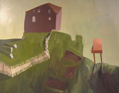 Fall 2013 - Selected Paintings