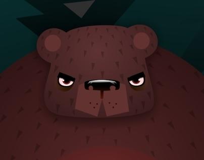 severe bear