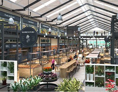 Wallsmart - Mercado dos Produtores - UPTOWN Barra