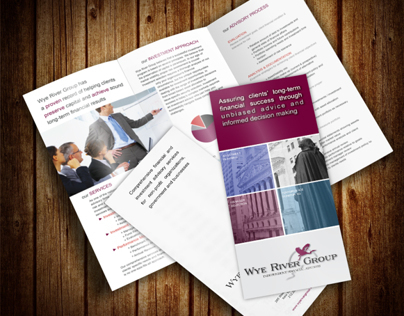 Tri-fold A4 Brochure