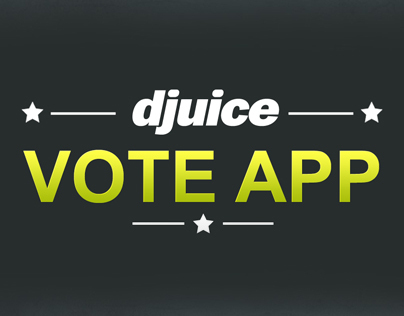 Djuice- Voting App mock