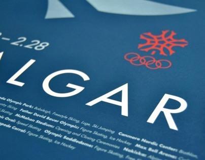 Calgary Olympic Poster