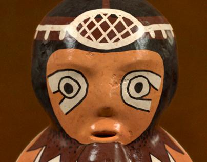 Terracotta of a musician