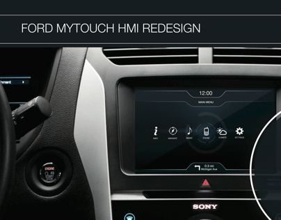 FORD HMI Redesign