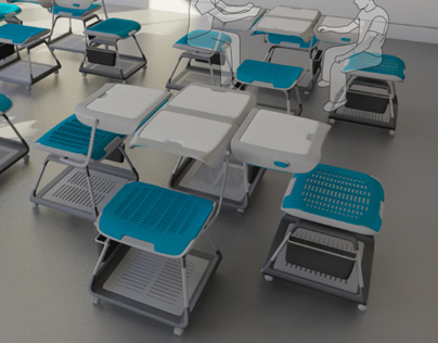 Furniture design for future educational institutions