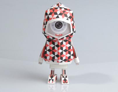 [ LA SARDINA - Cubic ] Paper toy of Boogiehood