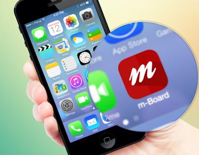 M-Board Icon App