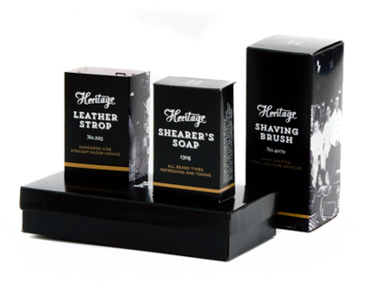 Heritage Mens Grooming Products