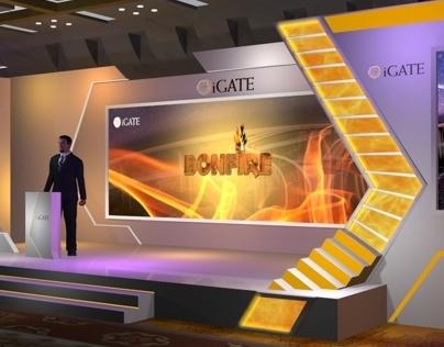 i gate - US set design for conference
