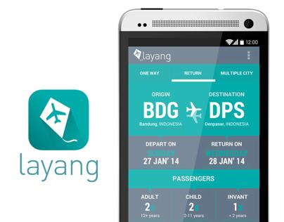 Layang - Flight Booking app (android)