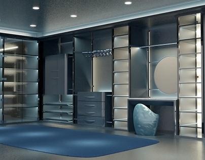 Dieci Shelves System