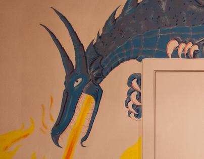 Wall Painting Mok Micro-Roastery Leuven