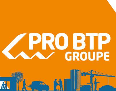 PRO BTP / Site corporate