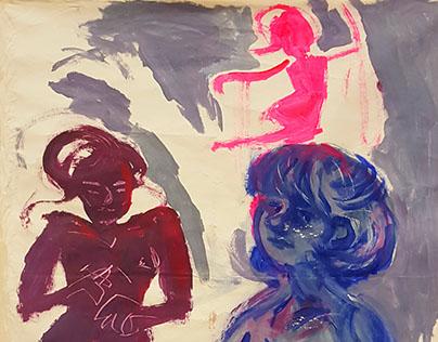 Paintings, Fall 2015