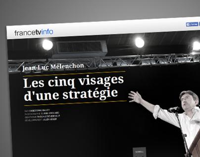 Un web documentaire pour Jean-Luc Mélenchon