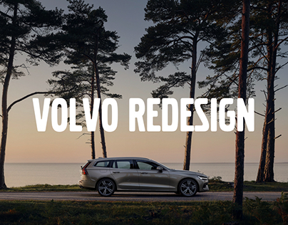 Volvo Cars website redesign