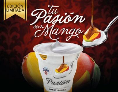 Campaña Lanzamiento P.O.P Mango Pasión - Gloria ®