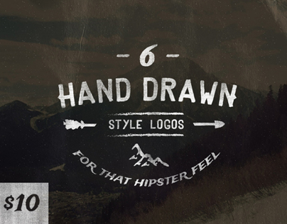 Hand Drawn Style Logos