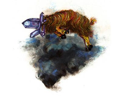 A Cloud... a Ghost... a Goat...