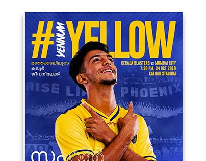 #YennumYellow Magazine for Kerala Blasters FC 2019-20
