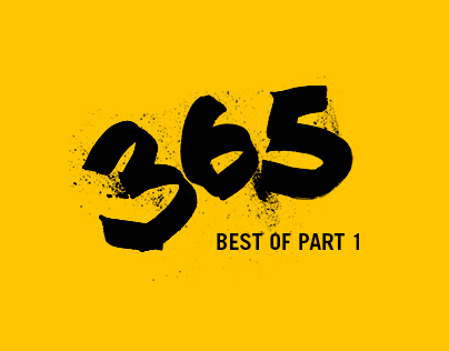 The 365 Project  (Best of, Part 1)