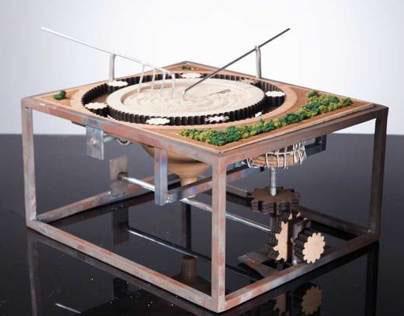 Mechanical Zen Garden