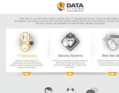Data Titans responsive web site
