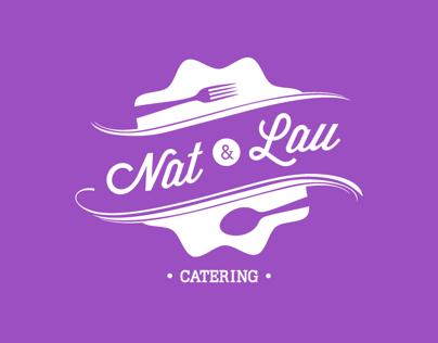 Nat & Lau, Catering Service | Identity
