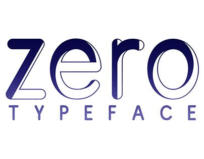 zero | free typeface