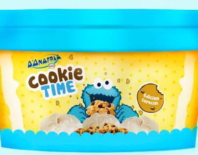 D'ONOFRIO ice cream packaging design