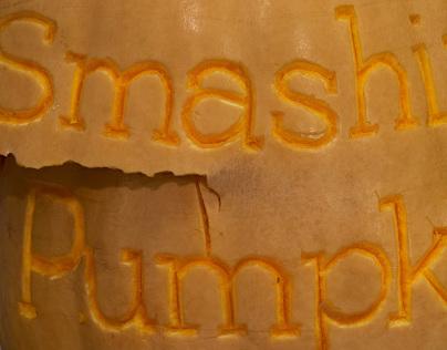 Smashing Pumpkin Lettering