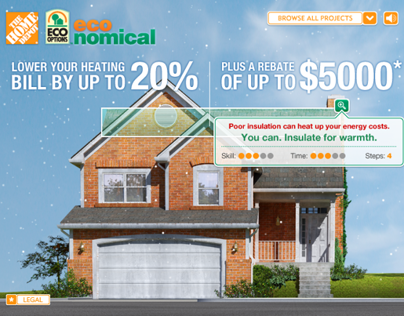 The Home Depot – EcoNomical Interactive Home