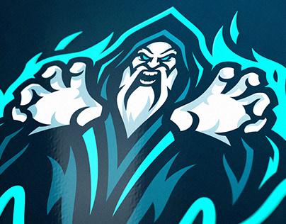 Warlock Esports Mascot Logo Project