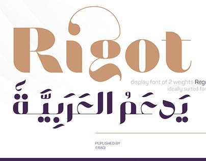 Rigot Typeface