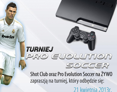 Flyer - Pro Evolution Soccer Tournament