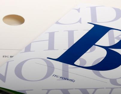 ITC Bodoni Type Specimen