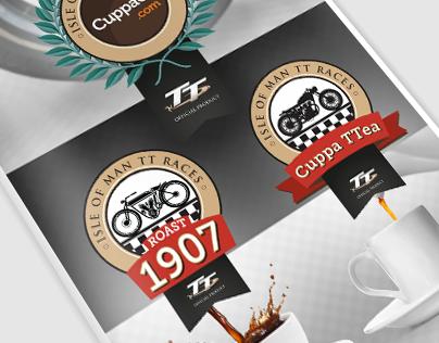 CuppaCo.com's Isle Of Man TT Races Product Brochure