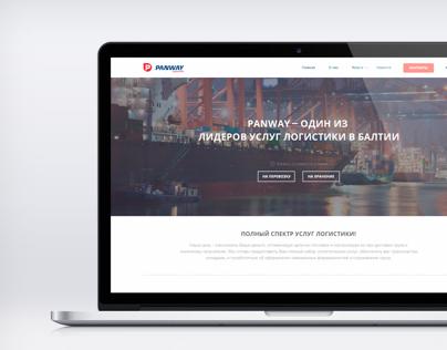 Panway Logistics website concept