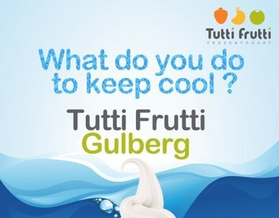 Tutti Fruity Summer Campaign Posters