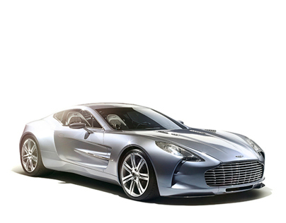 Aston Martin One-77 - Retouching