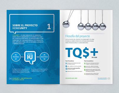 Real estate service brochure design