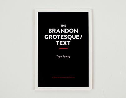 Brandon Grotesque / Text Type Specimen