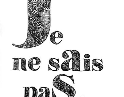 Typography Pattern