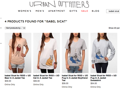 Isabel Sicat x Urban Outfitters
