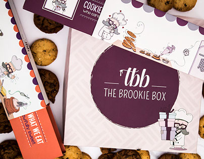 The Brookie Box | Branding | Packaging